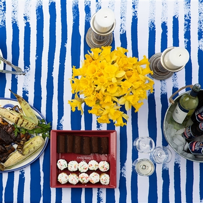 Mod Stripe Tablecloth