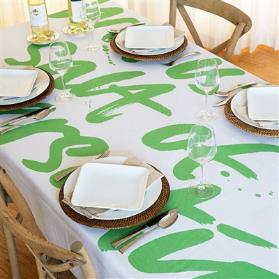 Witty Conversation Tablecloth