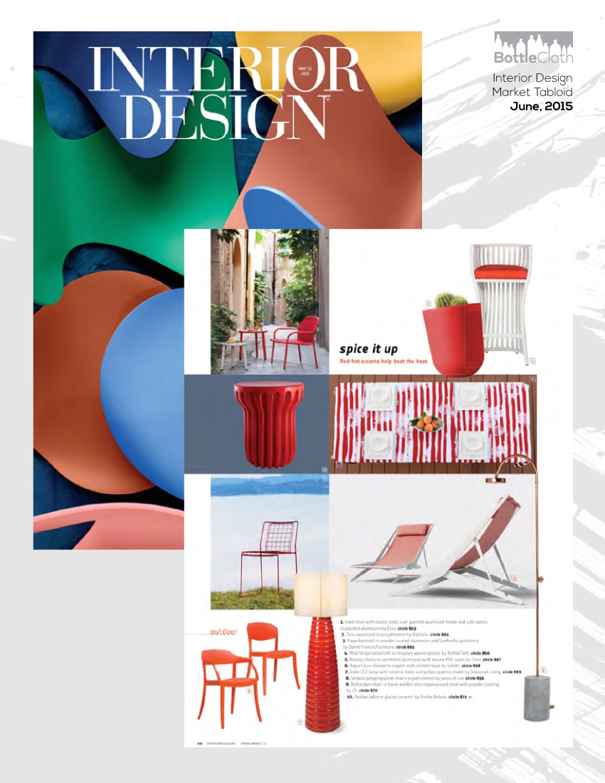BottleCloth Press - Interior Design Magazine