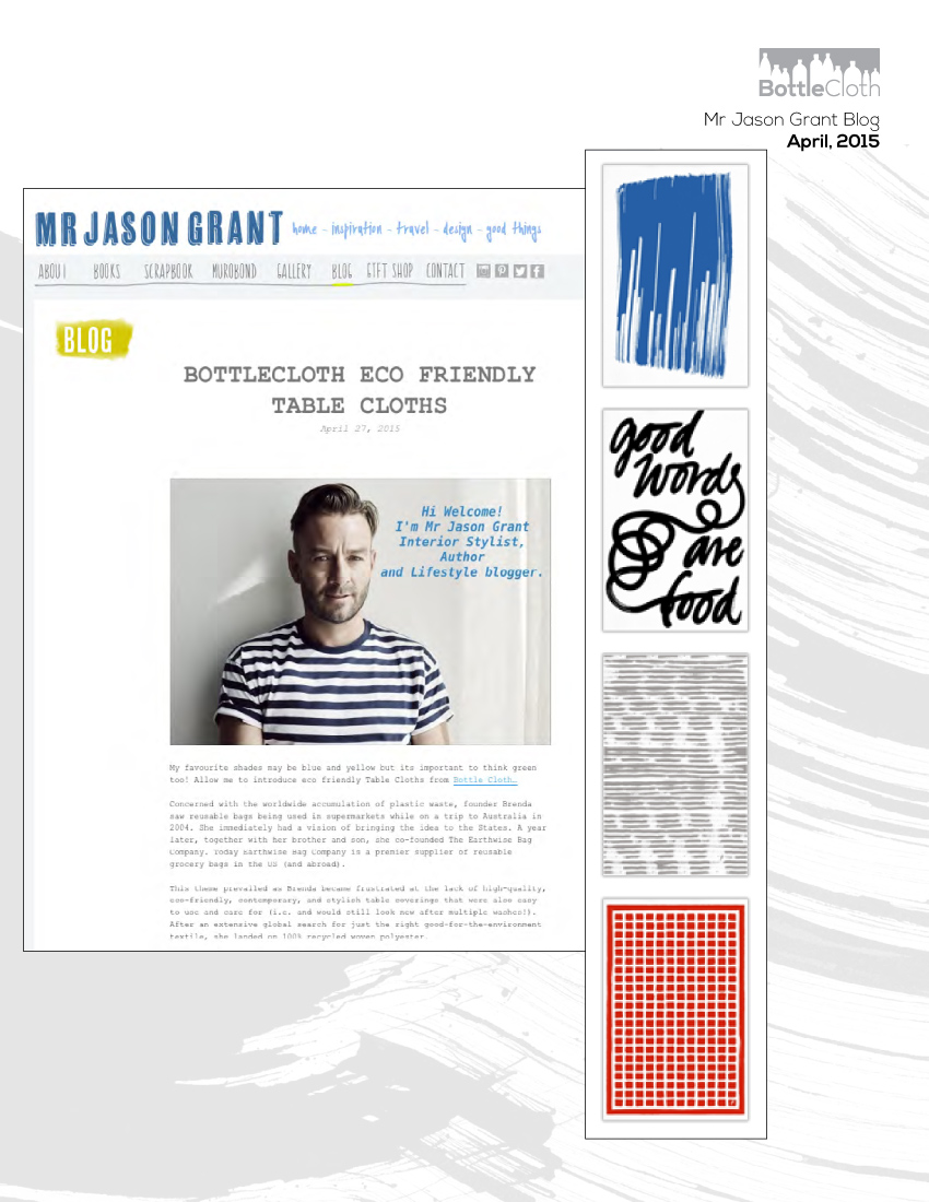 BottleCloth Press - Mr. Jason Grant Blog