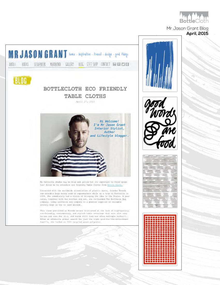 BottleCloth Press - Mr. Jason Grant Blog
