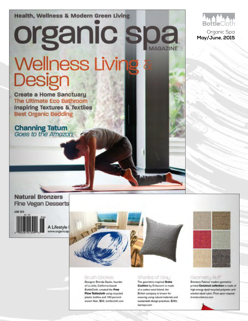 BottleCloth Press - Organic Spa Magazine