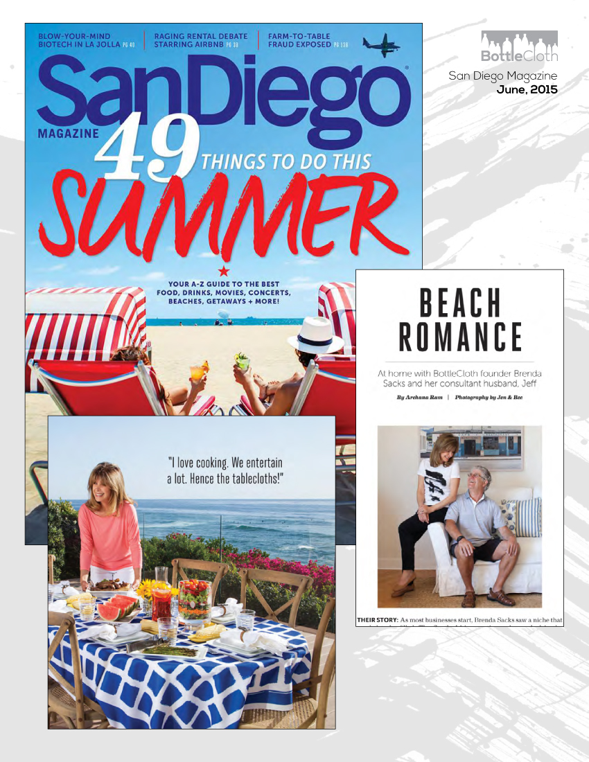 BottleCloth Press - San Diego Magazine