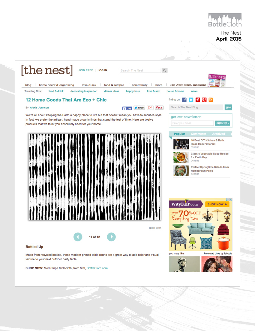 BottleCloth Press - The Nest