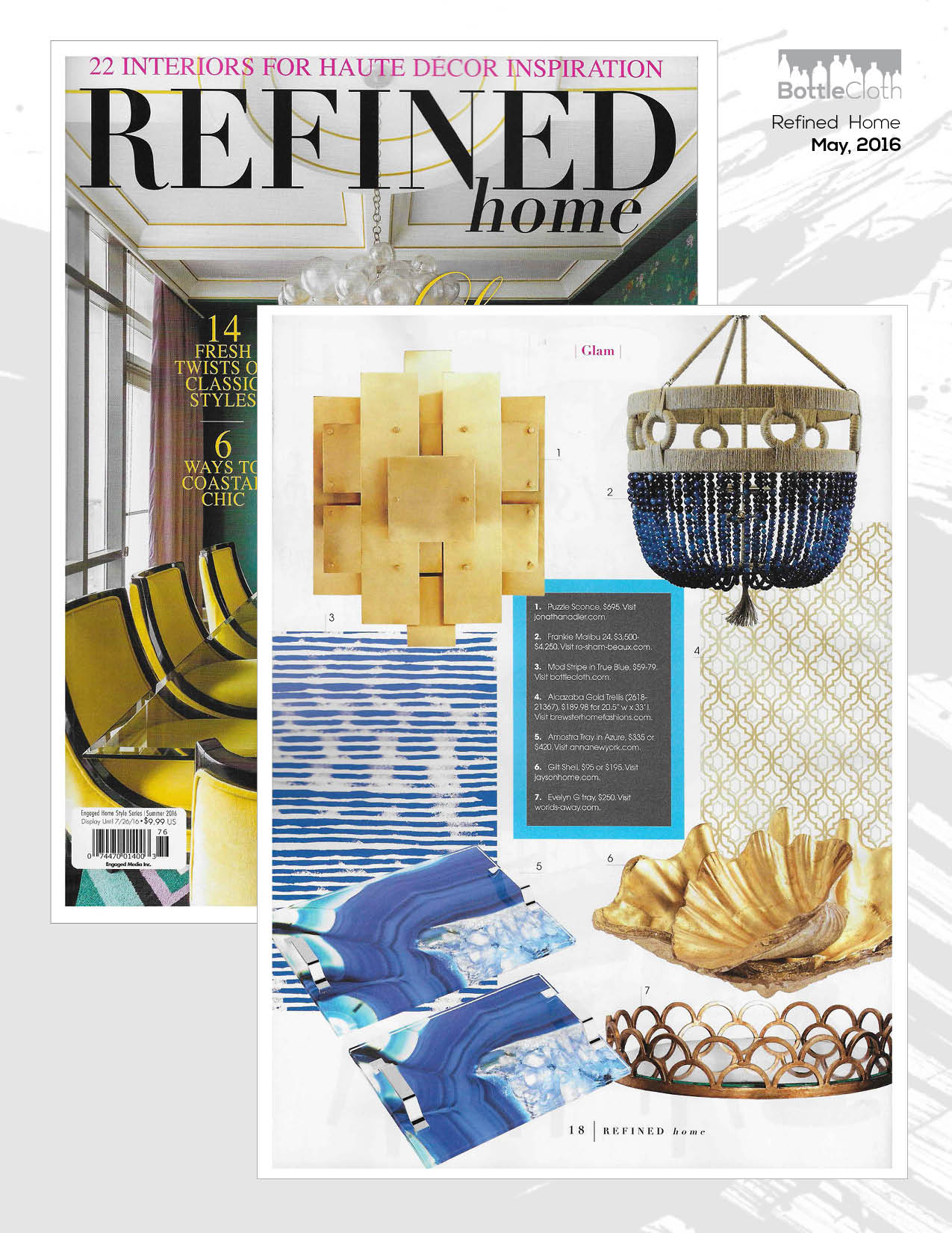 BottleCloth Press - Refined Home